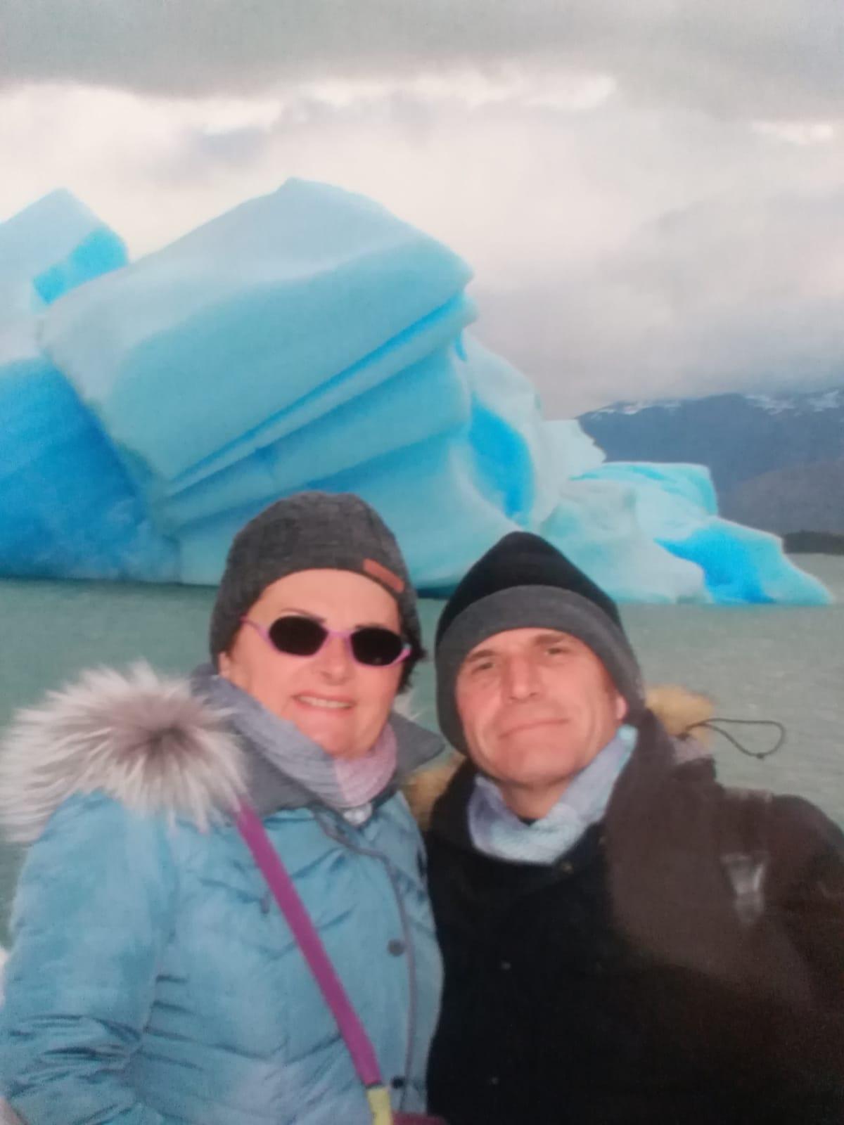 Colette et michel en argentine